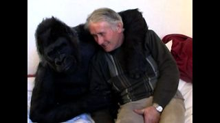 Couple Adopt Gorilla