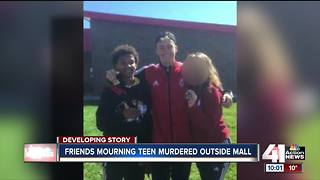 Friends mourn teen killed at Independence Center - Video
