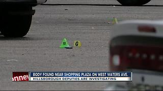 Homicide investigation on Waters Avenue - Video