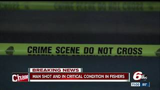 Fishers restaurant shooting leaves one man critically injured - Video