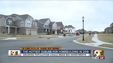 Housing boom in Liberty Township
