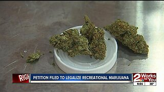 Petition filed to legalize recreational marijuana