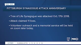 Synagogue attack anniversary Pittsburg