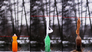 Soda and Mentos experiment you need to see! - Video