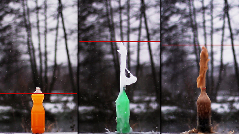 Soda and Mentos experiment you need to see!