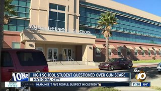 Sweetwater HS student questioned over gun scare