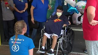 St. Lucie County student with Down syndrome released from hospital after coronavirus battle