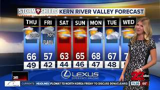 November 15th nightly weather update - Video