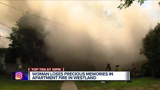 Dozens of residents now without homes after fire in Westland apartment complex - Video