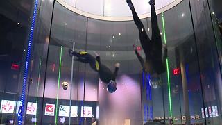 iFLY hosts Sunshine Showdown Indoor Skydiving Competition - Video
