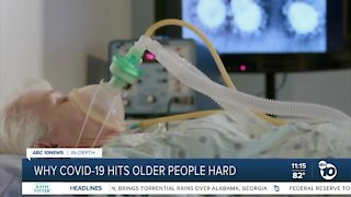Why COVID-19 hits older people harder