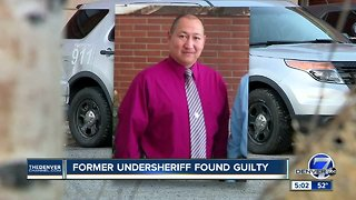 Jury finds former Lake Co. undersheriff guilty
