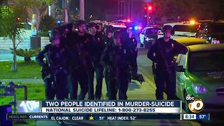 Police ID suspect, victim in murder-suicide - Video