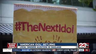 Bakersfield Local Shares American Idol Audition Experience - Video