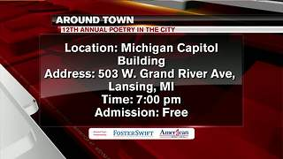Around Town 7/18/18: 12th Annual Poetry in the City - Video