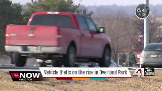 Car thefts on the rise in Overland Park - Video