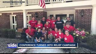 Real Estate Convention turns into a Relief Campaign - Video