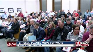 Chicken plant plans move forward in Washington County - Video