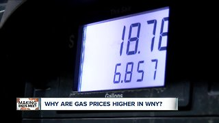 Why is gas so expensive around Buffalo?