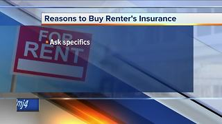 Call 4 Action: Why renter's insurance is a good idea - Video