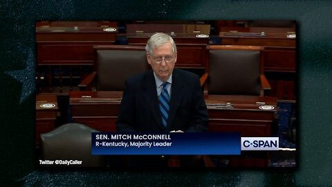 Mitch McConnell Goes Full RINO, Again Claims President Trump Incited Violence