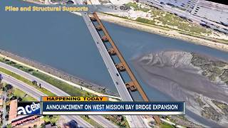 Expansion, reconstruction coming for West Mission Bay bridge - Video