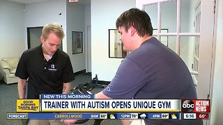 Trainer with autism opens Tampa Bay area gym for people with special needs
