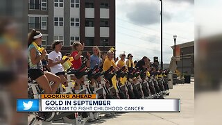 Gold In September: Hundreds of cyclists set to raise money for childhood cancer research