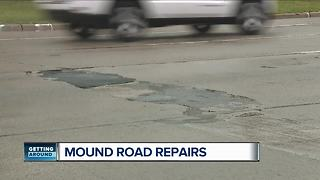 Finally a Fix: Construction to start on bumpy Mound Road - Video
