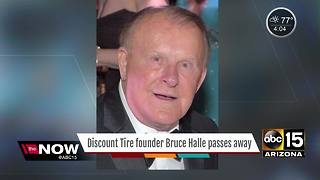 Discount Tire founder passes away - Video