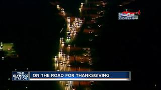 More Thanksgiving travelers on Wisconsin roads - Video