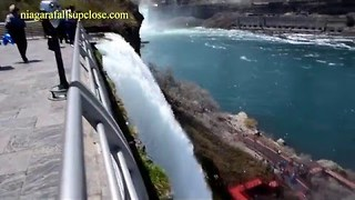 Construction For New Pathways and Better Views at Niagara Falls - Video