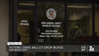 Ballot drop boxes were delivered this week, voters didn't waste time to use them