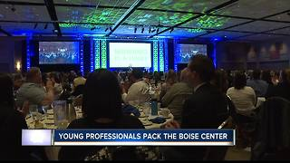 Boise event draws hundreds of young professional - Video