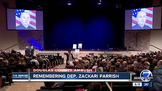 Funeral services for Douglas County Deputy Zackari Parrish set for Friday in Highlands Ranch