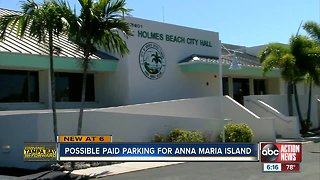 County leaders consider paid parking on Anna Maria Island