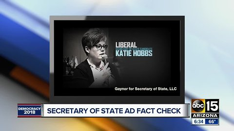 Fact-checking ads in Arizona's Secretary of State election