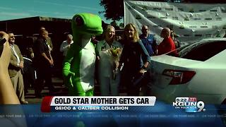 Gold Star mother receives car for Veterans Day - Video