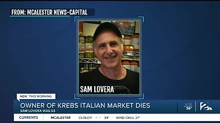 Owner of Krebs Italian Market Dies: Sam Lovera was 63