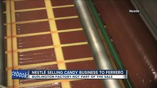 Nestle selling candy business to Ferrero - Video