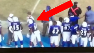 Tennessee State Player UNLEASHES Haymakers on Strength Coach, Gets Expelled - Video
