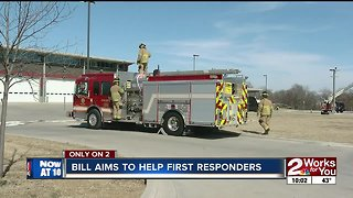 Bill aims to help first responders
