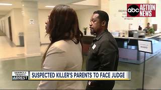 Suspected killer's parents to face judge on Thursday - Video