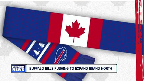 Buffalo Bills pushing to expand brand north