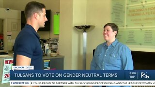 Tulsans to vote on gender neutral terms