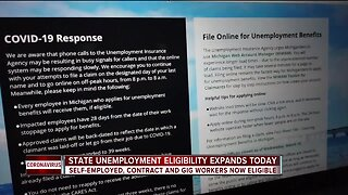 State unemployment eligibility expands today