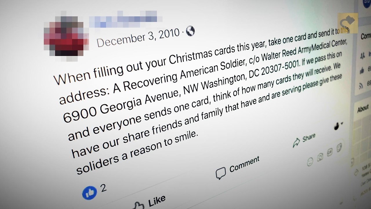 FACT CHECK: Cards for Recovering Soldiers