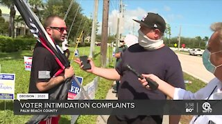 Some say shouting at early Florida voting sites is intimidating
