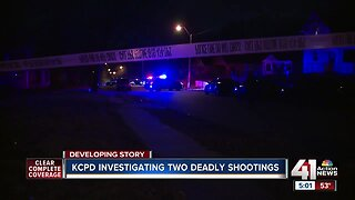 KCPD investigating two deadly shootings