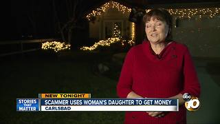 Scammer uses woman's daughter to get money